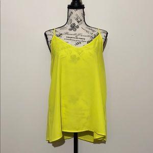 Alya Yellow Cami Top Size Medium